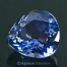 5.19 cts Natural Violet Blue TANZANITE Pear Drop Cut Clean Certified Tanzania