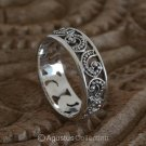 RING Genuine Solid Sterling SILVER Ring 2.95 g US size 6 ~ Handmade in Bali