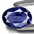 0.20 cts Deep Blue SAPPHIRE Oval Facet-cut Natural Gemstone Sri Lanka Ceylon