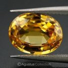 0.55 cts Yellow SAPPHIRE Oval Facet-cut Natural Gemstone Sri Lanka Ceylon