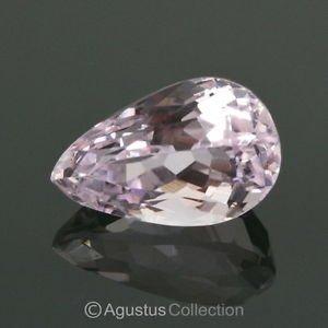 8.65 cts Natural Pink KUNZITE Pear Drop Facet-Cut Clean Gemstone Afghanistan