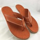 LOUIS VUITTON ORANGE SANDALS SIZE 9