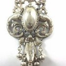 CINI .925  Victorian Baroque Silver Broach and Pendent