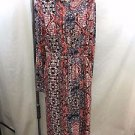 MINK PINK MAGESTIC CARPET MAXI SHIRT DRESS SIZE XS