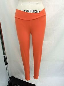 BIA BRAZIL ORANGE CROP YOGA PANTS