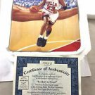 "1992 Upper Deck Limited Edition Michael Jordan Bulls ""Looking to Score"" Plate"