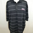 "CALLAWAY ""DREW BREES CELEBRITY CHAMPIONSHIP"" BLACK POLO ATHLETIC SHIRT SIZE XL"
