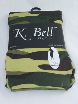 SALE!!!!! K Bell footless Tights - Cammo print