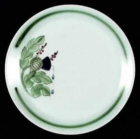 "Scottish Buchan Thistleware DISCONTINUED Dinner Plate 10"""
