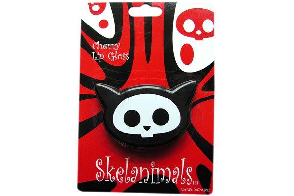 Skelanimals Kit the Cat Lip Gloss mirrored compact