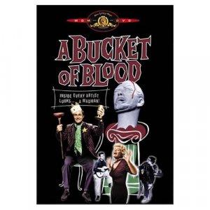 A Bucket of Blood DVD 1959 Roger Corman Classic!!!