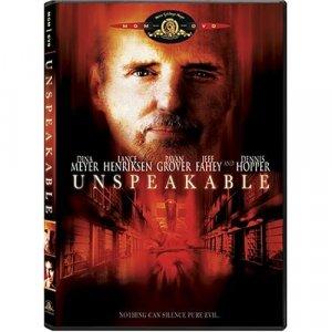 Unspeakable DVD (2003) Henriksen Hopper Fahey