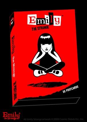 Emily the Strange Boxed 30 Postcard set - 15 designs! Sabbath, Neechee and more!