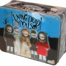 SLASHED 50% Living Dead Dolls Series one Posey Sin Damien Sadie Eggzorcist metal carryall lunchbox