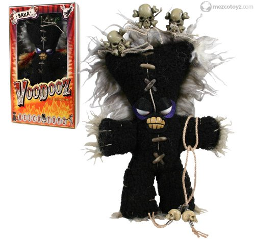 SALE! VooDooz plush doll BAKA series 1 with Voodoo kit Accessories by Mezco SLASHED 60%