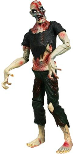 SLASHED 40% Attack of the Living Dead Series 1 Subject Jake Pale Strain Phase I Mezco Zombie figure