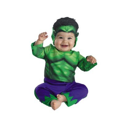 The Incredible Hulk Infant Halloween / Dress Up Costume 12-18 months