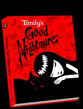 Emily The Strange  Emily's Good Nightmares Book