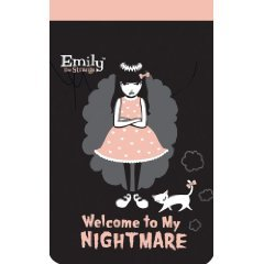 Emily the Strange Note Book Welcome To My Nightmare