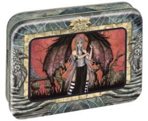 Amy Brown Fairy Faeries Web Dreams Picture Frame Tin w/ 12 cards