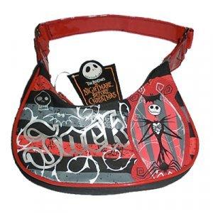 The Nightmare Before Christmas Jack Skellington Purse Bag Red/bBlack