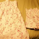Mommy and Me set - Pink flowered Sundress set - Custom size!