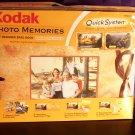 KODAK Travel  5 x 7 Photo Memories Quick System Brag or Scrap Book Kit