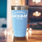 Promoted To Mommy Est 2021 Tumbler For New Mom