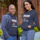 Love Between Father and Daughter Quality Pullover Hoodie