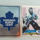 2 Felix Potvin Toronto Maple LEAFS Team Logo 1995/96 PANINI Hockey Sticker Cards