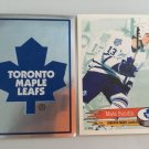 2 Mats Sundin Toronto Maple LEAFS Team Logo 1995/96 PANINI Hockey Sticker Cards