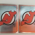 2 New Jersey Devils 1995/96 Team Logo Foil PANINI Hockey Sticker Cards # 87
