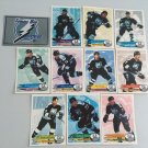 All 11 Tampa Bay Lightning TEAM SET 1995/96 Panini Hockey Sticker Cards