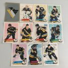 All 11 Pittsburgh Penguins TEAM SET 1995/96 Panini Hockey Stickers Cards LEMIEUX
