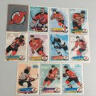 All 11 New Jersey Devils TEAM SET 1995/96 Panini Hockey Sticker Cards - BRODEUR