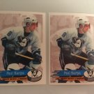 2 1995/96 Paul Kariya Anaheim MIGHTY DUCKS PANINI Hockey Sticker Card # 227