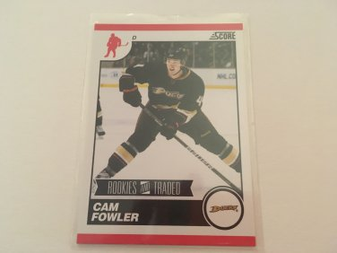 Cam Fowler 2011/12 Score Rookie and Traded Rookie RC Hockey Card #562