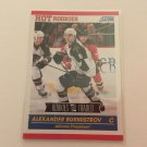 Alexander Burmistrov 2011/12 Score Rookie and Traded Rookie RC Hockey Card #599