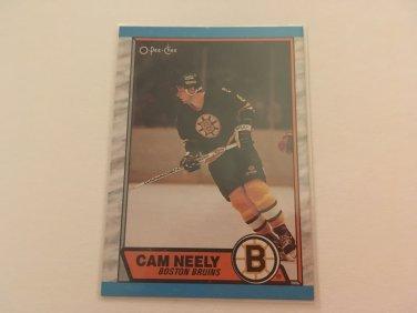 Cam Neely 1989/90 O-Pee-Chee Boston Bruins Hockey Card #15