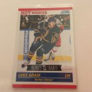 Luke Adam 2011/12 Score Rookie and Traded Rookie RC Hockey Card #605