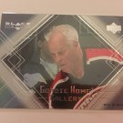 Gordie Howe 2000/01 Black Diamond Detroit Red Wings Gordie Howe Gallery Insert Hockey Card #GH1