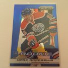 Mark Arcogello 2013/14 Panini Edmonton Oilers Rookie RC BLUE Insert Hockey Card #239