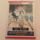 Jacob Markstrom 2011/12 Score Florida Panthers Rookie and Traded Rookie RC Hockey Card #609