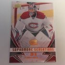 Carey Price 2008/09 Upperdeck Sophomore Seasations INSERT Montreal Canadiens Hockey Card #SS3