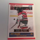 Jeff Frazee 2011/12 Score Rookie and Traded New Jersey Devils Rookie RC Hockey Card #620