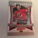 David Clarkson 2007/08 Upperdeck MVP New Jersey Devils Rookie RC Hockey Card #320