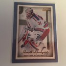 Henrik Lundqvist 2006/07 Beehive Blue New York Rangers  Hockey Card #37