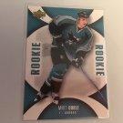 Matt Carle 2006/07 Upperdeck Mini Jersey San Jose Sharks Rookie RC Hockey Card #125