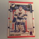 Curtis Joseph 1990/91 Score St Louis Blues Rookie RC Hockey Card # 151