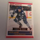 Keith Aulie 2011/12 Score Rookie and Traded Rookie RC Toronto Maple Leafs Hockey Card #629